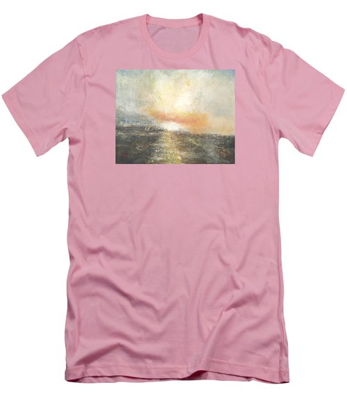 Sunset Drama Men's T-Shirt (Athletic Fit)