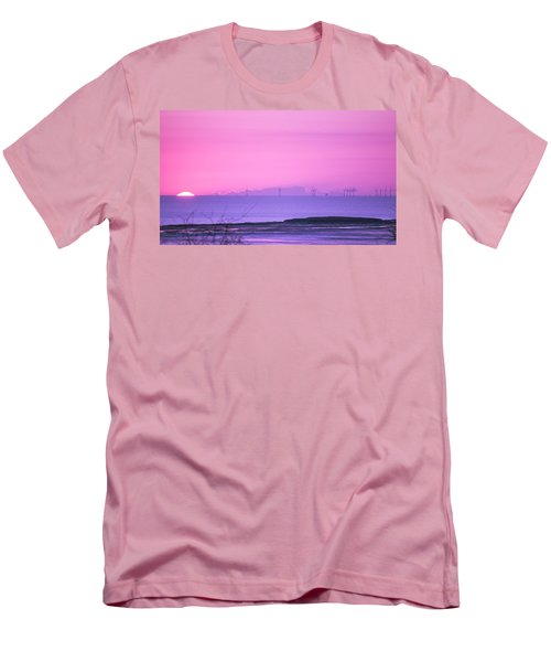Sunset Men's T-Shirt (Slim Fit) by Spikey Mouse Photography
