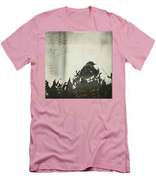 Men's T-Shirt (Slim Fit) featuring the photograph Sweet Disposition by Trish Mistric