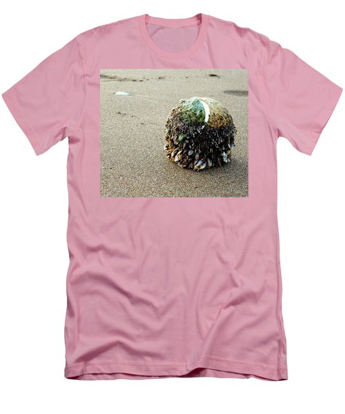 Men's T-Shirt (Slim Fit) featuring the photograph Tennis Anyone? by Peter Mooyman