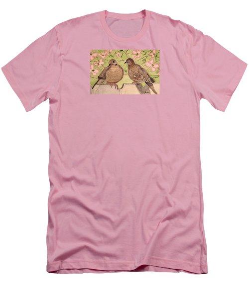 The Courtship Men's T-Shirt (Slim Fit) by Angela Davies