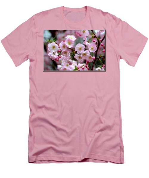 The Delicate Cherry Blossoms Men's T-Shirt (Athletic Fit)