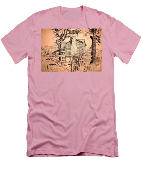 The Pig Sty Men's T-Shirt (Slim Fit) by Kip DeVore