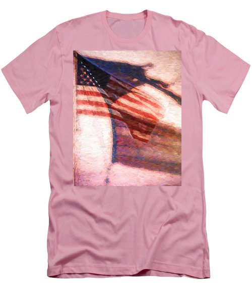 Through War And Peace Men's T-Shirt (Slim Fit) by Bob Orsillo