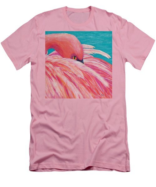 Tickled Pink Men's T-Shirt (Athletic Fit)
