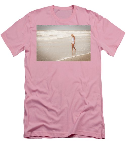 Men's T-Shirt (Slim Fit) featuring the photograph Tranquility by Sennie Pierson