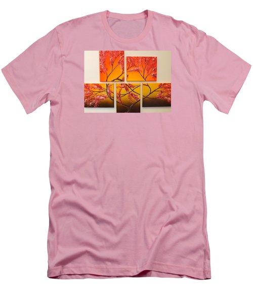 Tree Of Infinite Love Men's T-Shirt (Slim Fit) by Darren Robinson