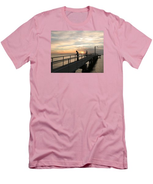 Twilight Fishing Men's T-Shirt (Athletic Fit)