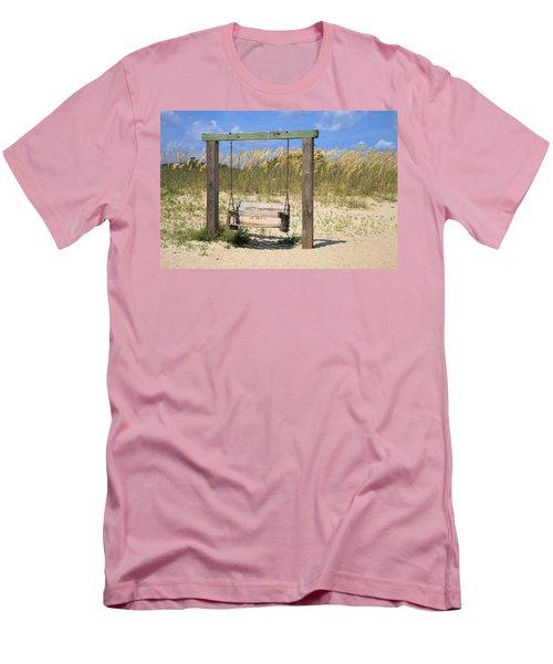 Tybee Island Swing Men's T-Shirt (Slim Fit) by Gordon Elwell