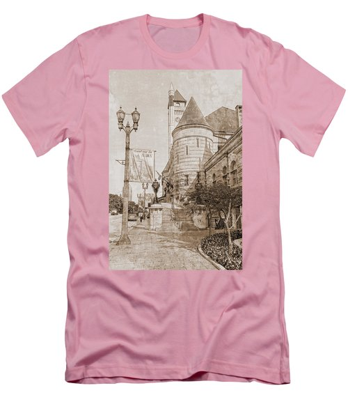 Union Station St Louis Mo Men's T-Shirt (Slim Fit) by Greg Kluempers