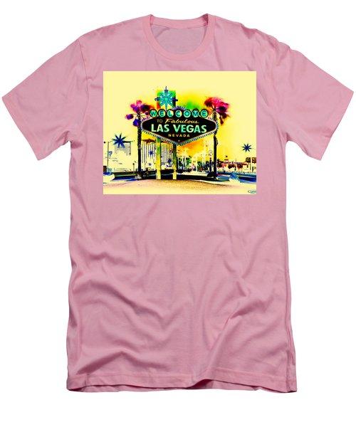 Vegas Weekends Men's T-Shirt (Slim Fit) by Az Jackson