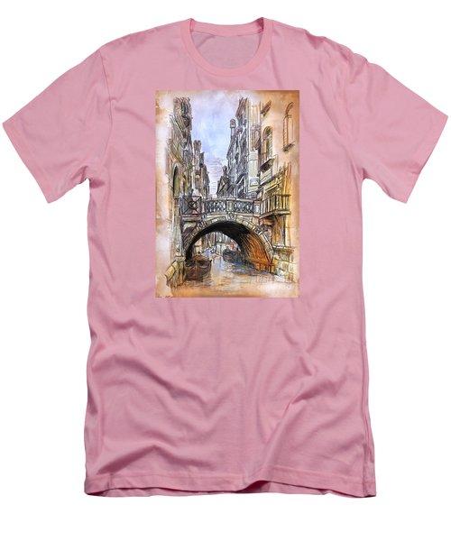 Venice 2 Men's T-Shirt (Slim Fit) by Andrzej Szczerski
