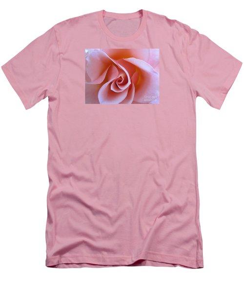 Vivacious Pink Rose Men's T-Shirt (Athletic Fit)
