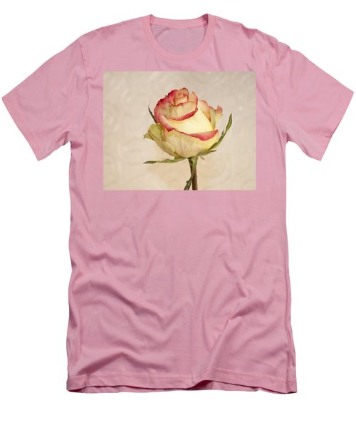 Men's T-Shirt (Slim Fit) featuring the photograph Waiting For The Unfurling by Sandra Foster