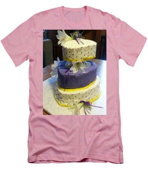 Wedding Cake For May Men's T-Shirt (Slim Fit)