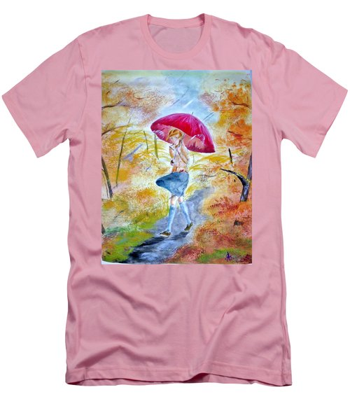 Windy Day Men's T-Shirt (Athletic Fit)