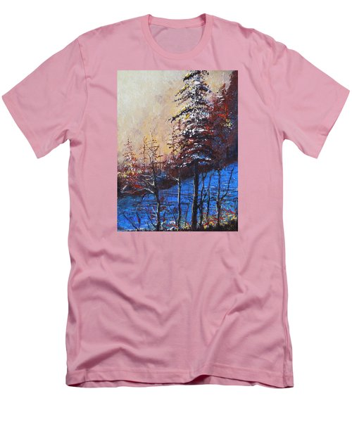 Autumn Silence Men's T-Shirt (Slim Fit) by Dan Whittemore
