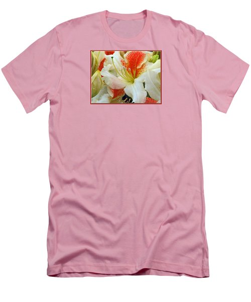 Men's T-Shirt (Slim Fit) featuring the photograph Azaleodendron Glory Of Littleworth by Chris Anderson