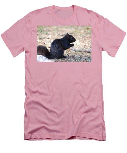 Black Squirrel Of Central Park Men's T-Shirt (Athletic Fit)