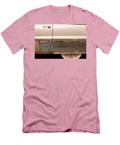Men's T-Shirt (Slim Fit) featuring the photograph Chrome by John Schneider