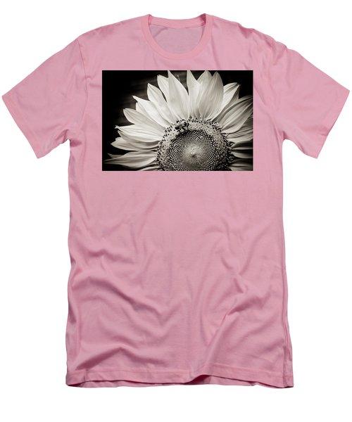 Classic Sunflower Men's T-Shirt (Slim Fit) by Sara Frank