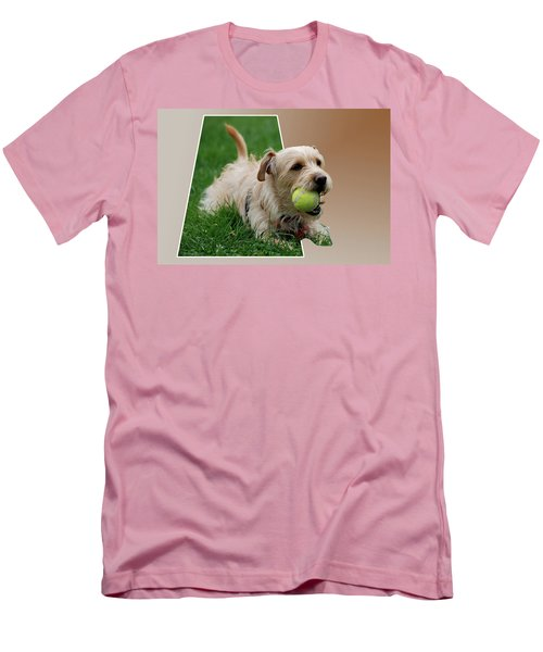 Men's T-Shirt (Slim Fit) featuring the photograph Cruz My Ball by Thomas Woolworth