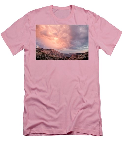 Half Dome From Olmsted Point Men's T-Shirt (Athletic Fit)