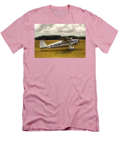 Luscombe 8e Deluxe 2 Seater Plane Men's T-Shirt (Athletic Fit)