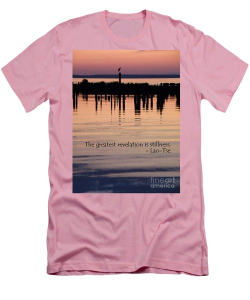Men's T-Shirt (Slim Fit) featuring the photograph Revelation by Lainie Wrightson
