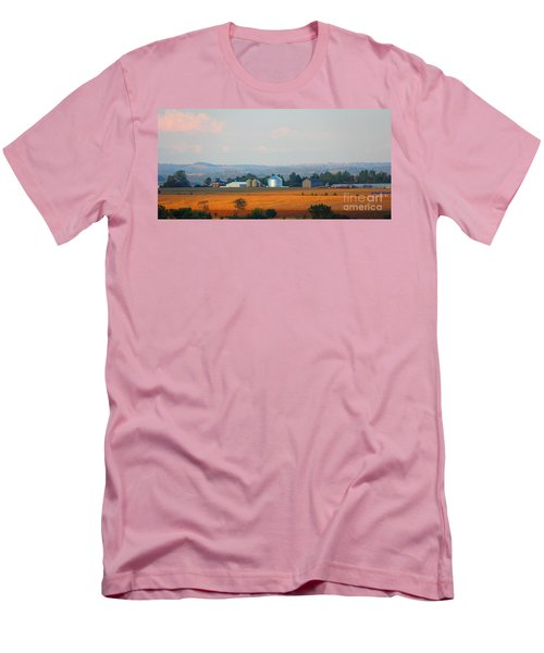 Men's T-Shirt (Slim Fit) featuring the photograph The Countryside by Davandra Cribbie