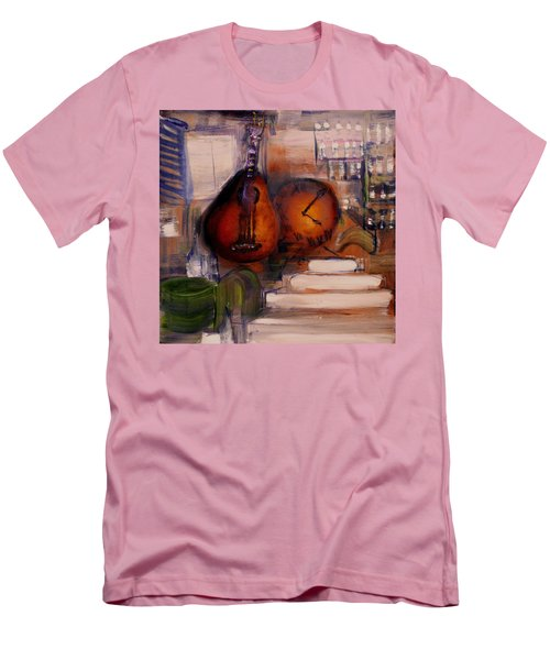 The Mandolin Men's T-Shirt (Slim Fit) by Evelina Popilian