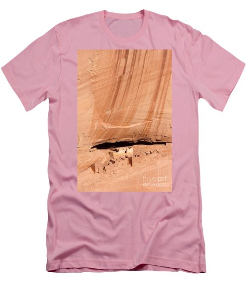 White House Ruins Men's T-Shirt (Slim Fit) by Mike  Dawson
