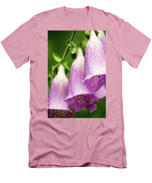 Wild Foxglove Men's T-Shirt (Slim Fit) by Albert Seger
