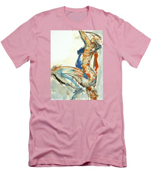 04958 Suddenly Men's T-Shirt (Slim Fit) by AnneKarin Glass