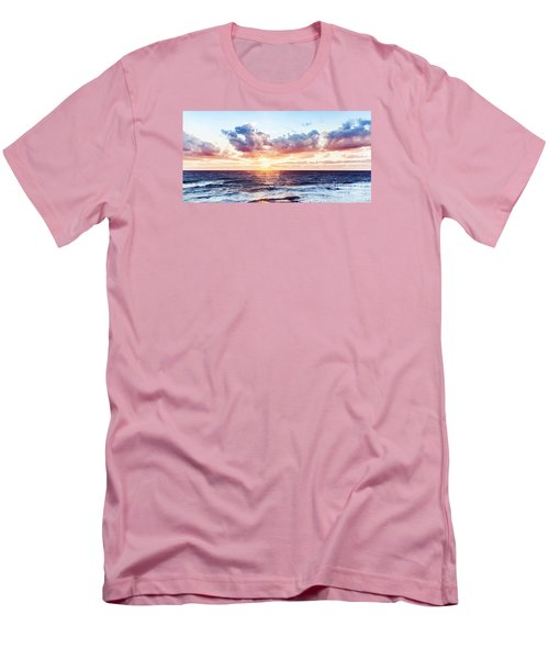 Beautiful Sea Landscape Men's T-Shirt (Athletic Fit)