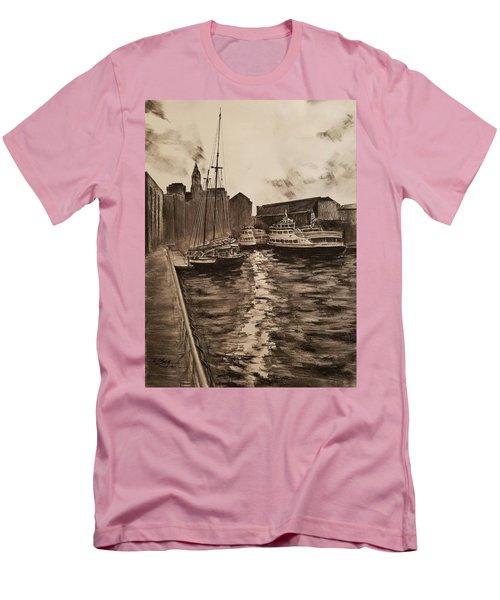 Boston Harbor Men's T-Shirt (Athletic Fit)