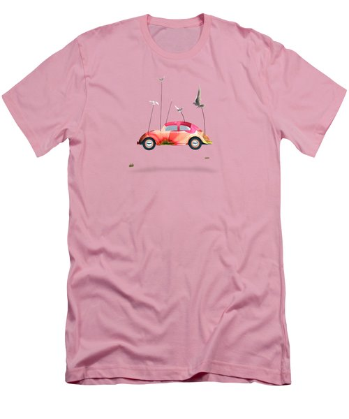 Suriale Cars  Men's T-Shirt (Athletic Fit)