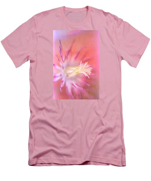 Clematis Men's T-Shirt (Slim Fit) by Bonnie Bruno