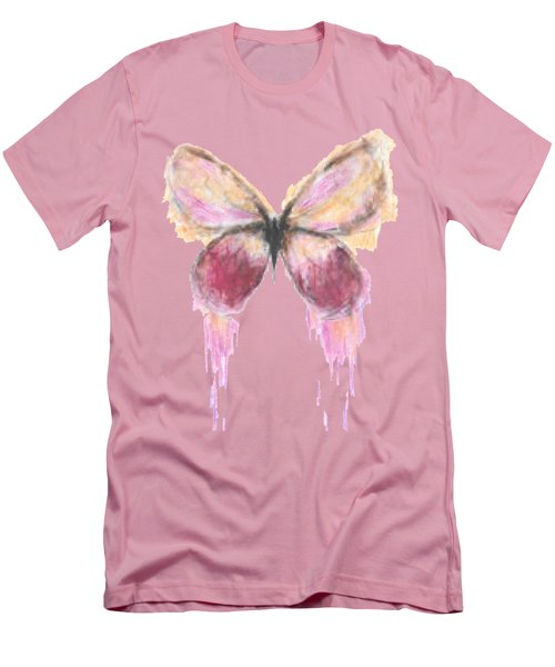 Flutterby  Men's T-Shirt (Slim Fit) by Herb Strobino