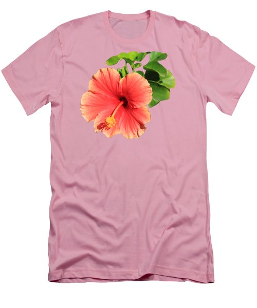 Men's T-Shirt (Slim Fit) featuring the photograph Hibiscus by Shane Bechler