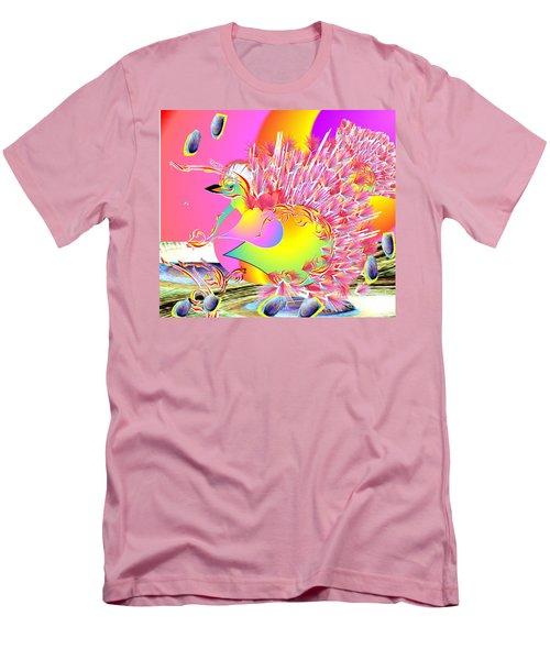 Many Colors Men's T-Shirt (Slim Fit) by Belinda Threeths