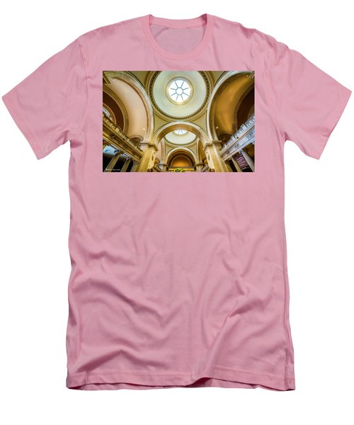 Men's T-Shirt (Slim Fit) featuring the photograph Metropolitan Museum Of New York by Marvin Spates