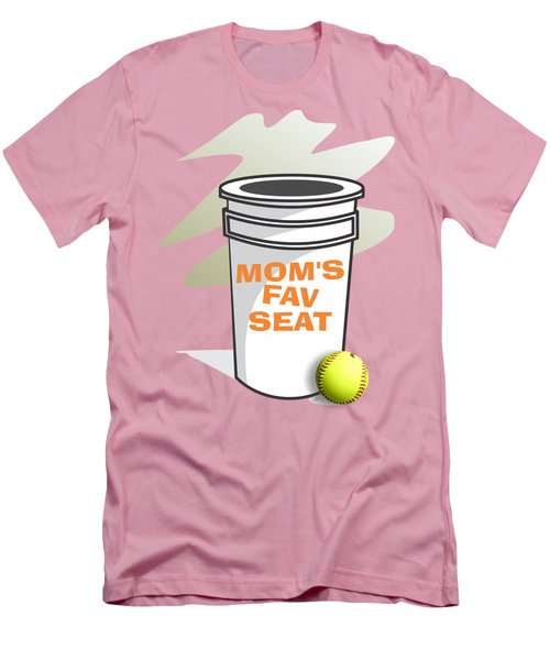 Mom's Favorite Seat Men's T-Shirt (Athletic Fit)