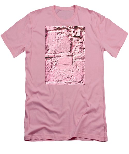 Pink Wall Men's T-Shirt (Athletic Fit)