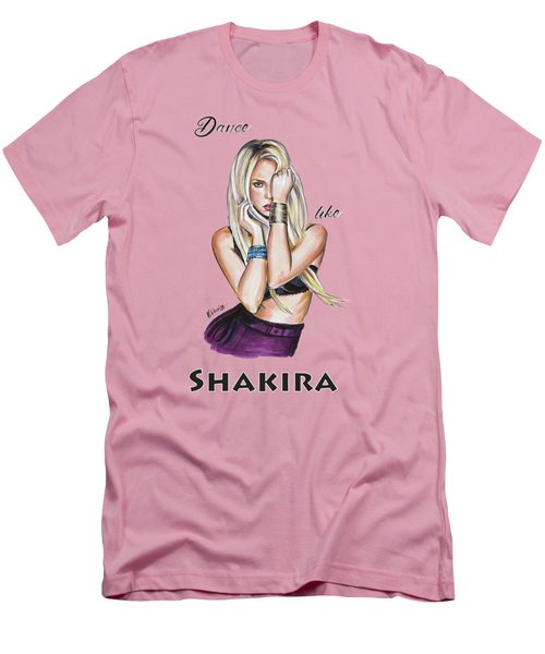 Shakira Men's T-Shirt (Athletic Fit)