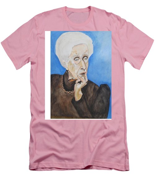 Men's T-Shirt (Athletic Fit) featuring the painting So Curious by Esther Newman-Cohen