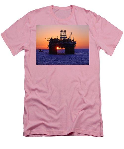 Thunder Horse At Sunset Men's T-Shirt (Athletic Fit)