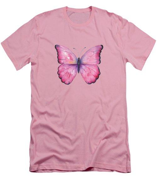 105 Pink Celestina Men's T-Shirt (Athletic Fit)