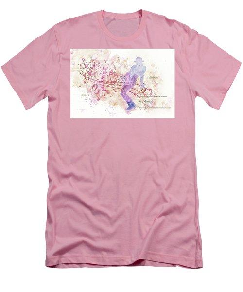 10849 All That Jazz Men's T-Shirt (Slim Fit) by Pamela Williams