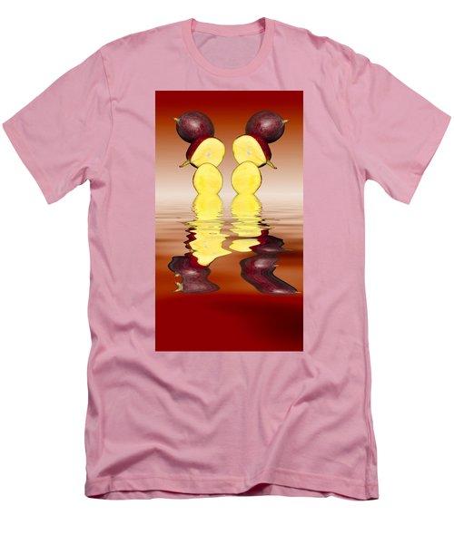 Fresh Ripe Mango Fruits Men's T-Shirt (Slim Fit) by David French